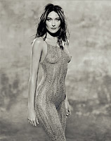 Carla Bruni, Body Paint